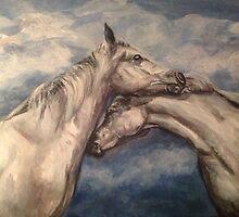 Horse Romance by viveca