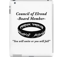 Council of Elrond Member iPad Case/Skin