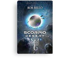 Scorpio Desert Canvas Print
