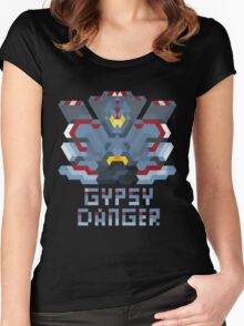 Pacific Rim Jeager - Gypsy Danger Women's Fitted Scoop T-Shirt