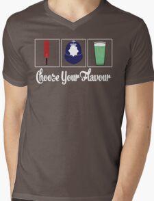 Choose Your Flavour Mens V-Neck T-Shirt