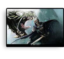 Knight Slayer Canvas Print