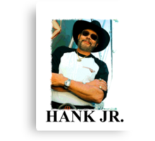 Hank Williams Jr. Canvas Print