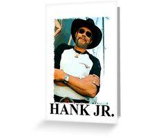 Hank Williams Jr. Greeting Card