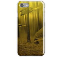 Turtles in the forest iPhone Case/Skin