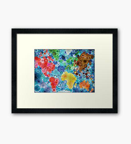 Lighting up the world! Framed Print
