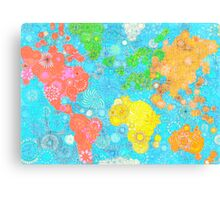 Paint the World Canvas Print
