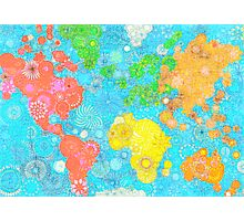 Paint the World Photographic Print
