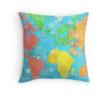 Paint the World Throw Pillow
