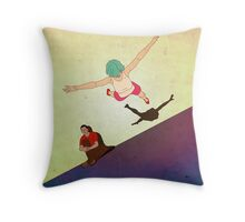 Amusing the Patient Throw Pillow