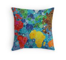 Smudge the World! Throw Pillow
