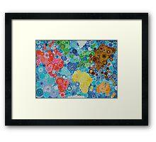 Whirl around the World! Framed Print