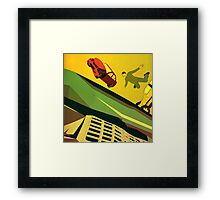 Better and Happier Framed Print
