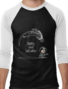 Ripley and the Alien - Black t-shirt Men's Baseball ¾ T-Shirt