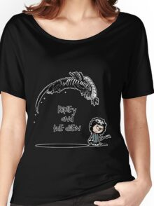 Ripley and the Alien - Black t-shirt Women's Relaxed Fit T-Shirt