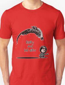 Ripley and the Alien - Black t-shirt Unisex T-Shirt