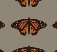 chocolate naive butterfly  Sticker