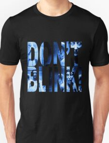 Weeping Angels - Don't Blink!! Blue* Unisex T-Shirt