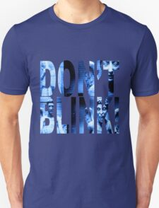 Weeping Angels - Don't Blink!! Blue* T-Shirt