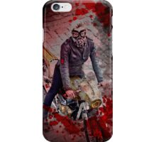Zombie Hunter Motorcycle Girl iPhone Case/Skin