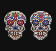 Colorful Skulls by tvedtt