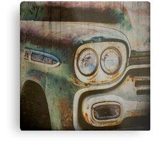 Vintage Chevrolet Apache Truck Metal Print