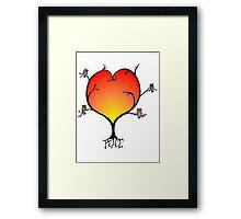 Peaceful Owl Tree Framed Print