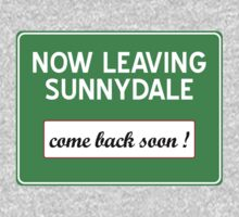 Now leaving Sunnydale (Buffy) One Piece - Short Sleeve