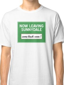Now leaving Sunnydale (Buffy) Classic T-Shirt
