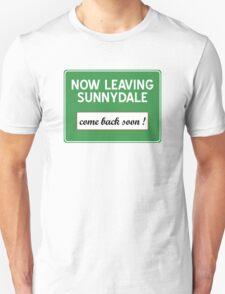 Now leaving Sunnydale (Buffy) Unisex T-Shirt
