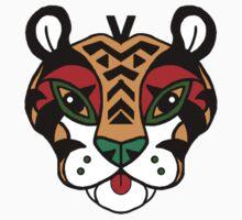 Aztec Tiger Totem T-Shirt
