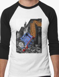 A Very Naughty Engine Men's Baseball ¾ T-Shirt