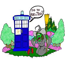 Doctor Who in OZ by Skree