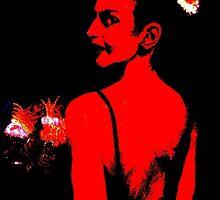 The Bridesmaid: Red by AdagioArt