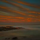 Frazer Beach Sunset by bazcelt