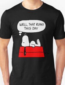 Sad Snoopy T-Shirt