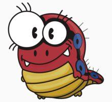Cartoon caterpillar One Piece - Short Sleeve