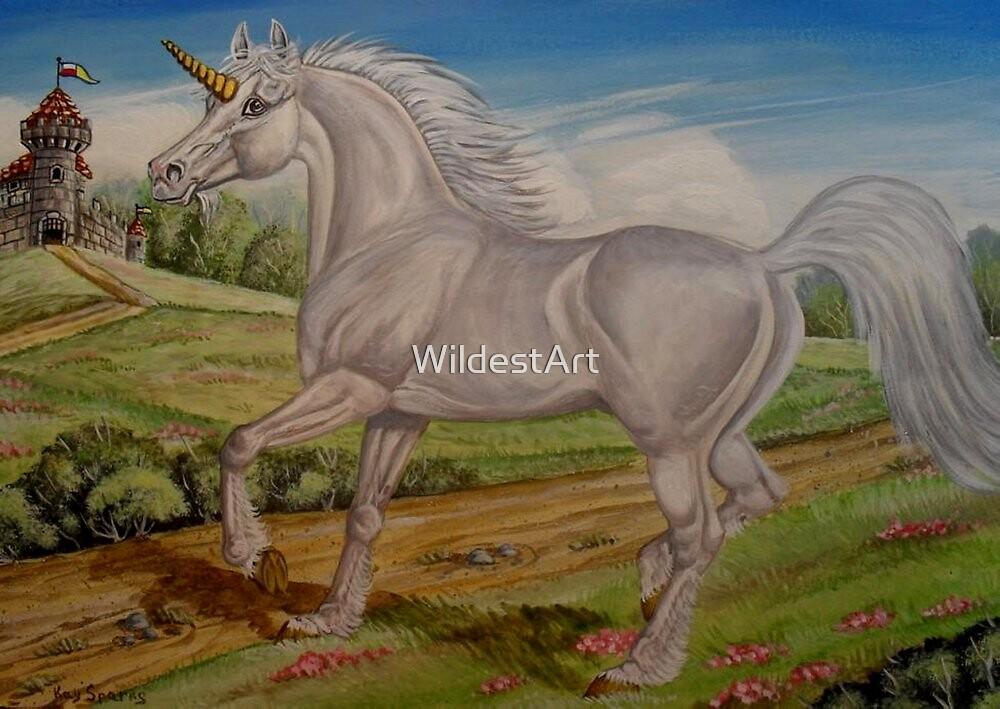 Unicorn by WildestArt