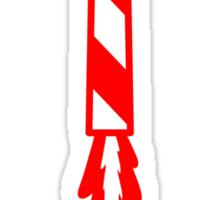 Firework Rocket Sticker