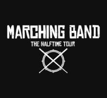 Marching Band Rocks Kids Tee