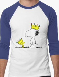 Snoopy and Woodstock Kings Men's Baseball ¾ T-Shirt