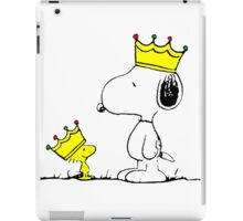 Snoopy and Woodstock Kings iPad Case/Skin