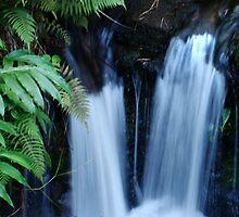 Double Waterfalls by Eva Kato
