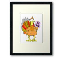 Tofu Thanksgiving Framed Print