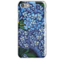 Heartfelt Hydrangeas iPhone Case/Skin