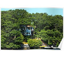 (✿◠‿◠) HOUSE SURROUNDED BY GREEN TREES (✿◠‿◠) Poster