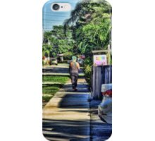 Punker in the Neighborhood iPhone Case/Skin