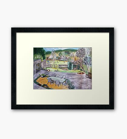 Country life Framed Print