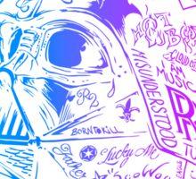 Retro Vader street style Sticker