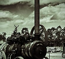 Steam Engine - Lomo Effect by Deborah McGrath